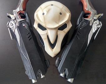 Overwatch Reaper Cosplay Double Guns Custom Props OW Weapon Gun