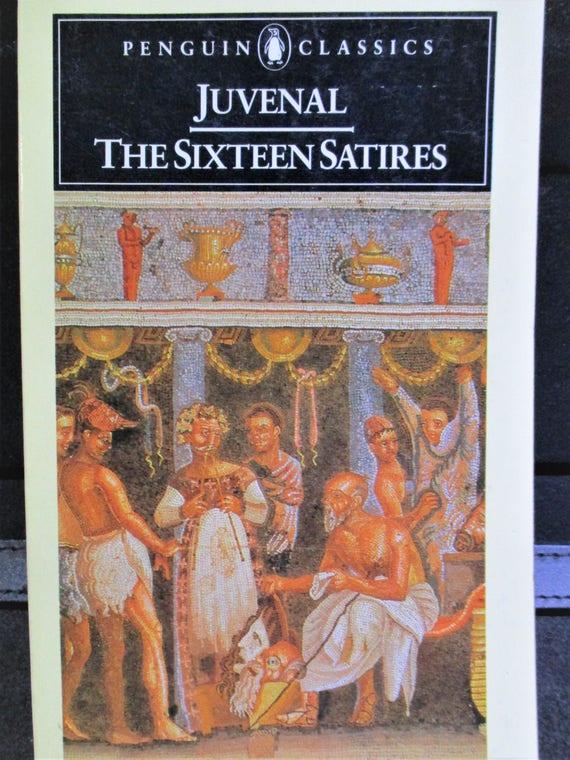 Sixteen Satires, Juvenal (Penguin Classics)