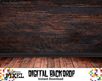 DIGITAL BACKDROP, PHOTOGRAPHY Backdrop, Photo, Wallpaper Backdrop, Vintage Backdrop, Instant Download, Digital Background, Wood