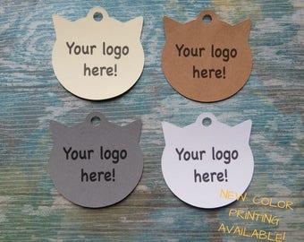 "Custom Tags, Custom Tags for Pets Accessories ""Cat"""