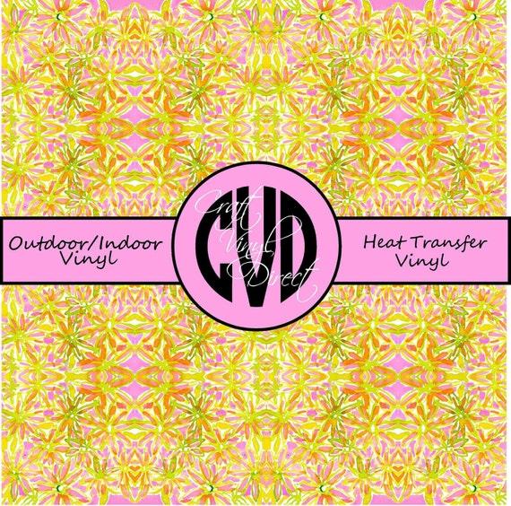 Patterned Vinyl // Patterned / Printed Vinyl // Outdoor and Heat Transfer Vinyl // Pattern 577