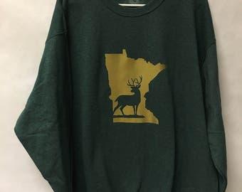 MN deer sweater