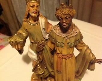 Depose Italy wiseman, vintage nativity wise man, three kings,  black wise men Balthasar