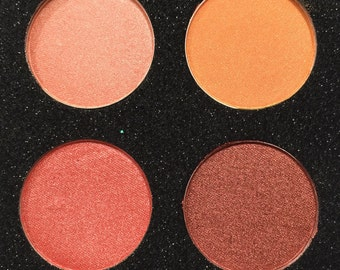 Hand pressed eyeshadow x4 #n8