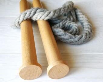 "35mm, Straight needles, Giant needles, Wood knitting needles, Chunky knitting, Knitting supplies, Big knitting needles, Working length 14"""