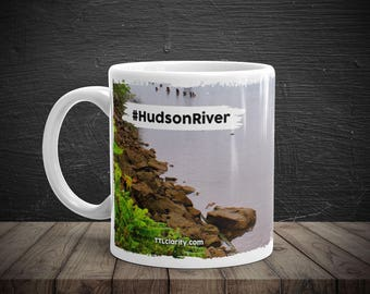 Hudson River Hudson Valley Walkway Over The Hudson Boat Coffee Cup Mug
