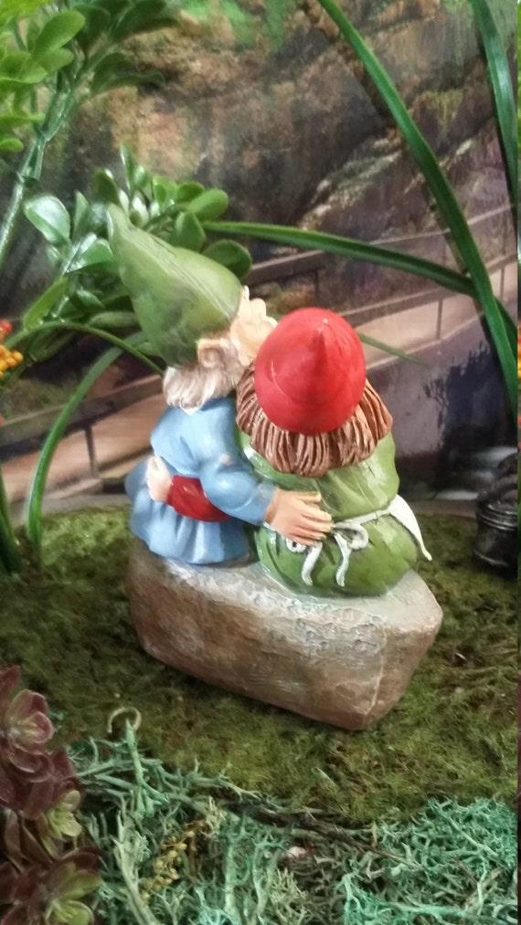 Gnome In Garden: Fairy Garden Miniature Garden Gnome Couple For Your Fairy