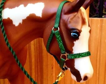 Glitter overlay halters - Breyer - Model horse