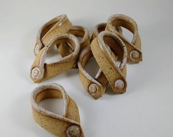 Napkin Rings, Set of 8
