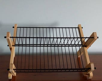 Dish Rack - French - Pine Wood or Olive Wood