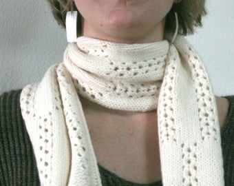 Beloved Lace Knitted Scarf