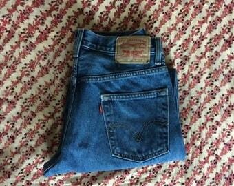 Vintage Levis // Levis 550 // 31 W 30 L