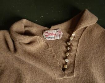 Vintage 50s Catalina Lambswool Top