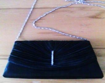 Black Clutch Evening Bag
