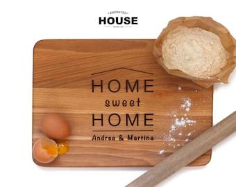 Personalized cutting board, chopping board, engraved, wood cutting board, wedding gift, anniversary gift, housewarming gift, birthday gift