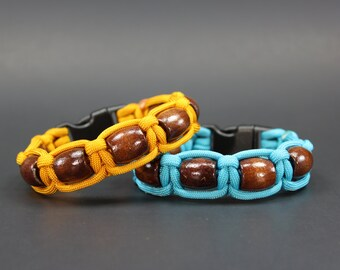 The Woody - Paracord Bracelet (please be sure to read sizing instructions before ordering)