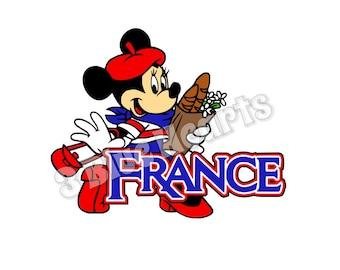 France SVG dxf Studio, Epcot SVG dxf Studio, Disney SVG dxf Studio, Minnie svg dxf studio, Epcot Countries svg dxf Studio