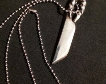 Twished Knife necklace