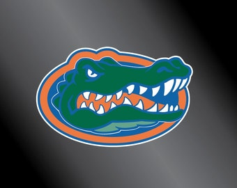 Florida Gator Decal Etsy