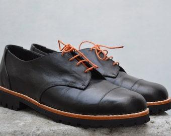 Handmade Leather Derby Shoe