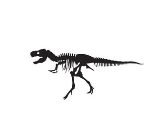 T-Rex Decal - Tyrannosaurus Rex, T-Rex decal, T-Rex Vinyl Decal, Dinosaur Sticker