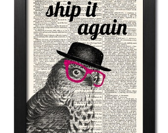 Please ship my prints again