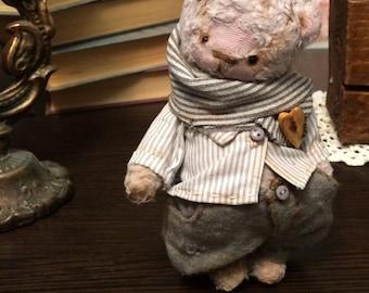 SOLD! Teddy bear Plush handmade free shipping