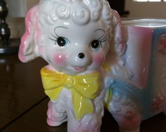 Sweet lamb planter by Nancy Pew giftwares co.