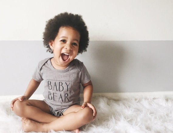 Baby Bear Bodysuit or T-Shirt