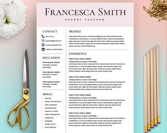 Skills Resume Word Feminine Resume Cv Design Resume Download Ms Word Resume Cook Resume Examples Pdf with How To Write The Perfect Resume Teacher Resume Template  Resume For Teacher  Cover Letter For Teacher  Microsoft  Word Mac Contract Specialist Resume Pdf