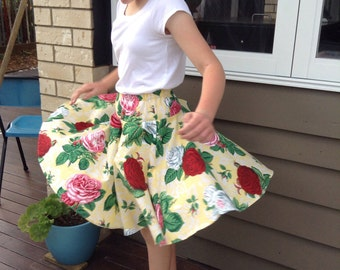 Taking orders! Size 3-12 Rose twirl skirt Size