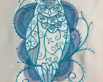 Winter Owl: Altar Cloth