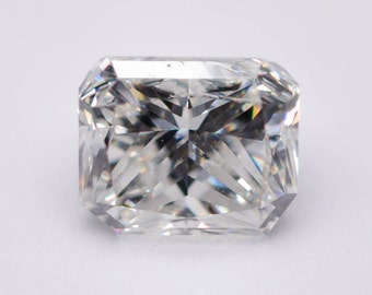 0.90 Carat - Natural Loose Polished Diamond Brilliant Radiant Cut White I VS1