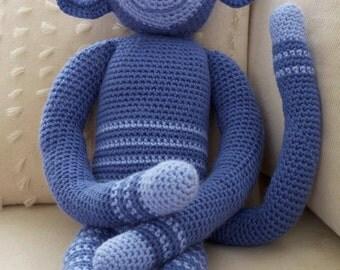 Crochet Monkey, Easy & Quick, Crochet Pattern. PDF Instant Download.