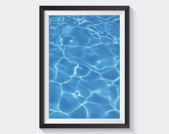 Ocean Print, Beach Wall Art, Sea Photography, Instant Download, Coastal, Printable Poster, Nursery Home Decor, Modern, Minimal, Nature
