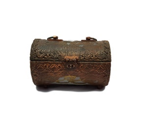 Walborg Copper Clad Lucite Purse