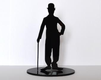 Charlie Chaplin statuette, Charlie Chaplin souvenir, Charlie Chaplin gift, Chaplin star