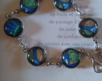 """African """"wax"""" bronze bracelet"""