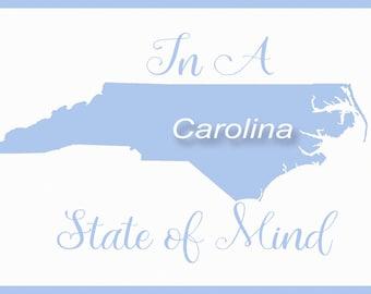 North Carolina, Tarheels, UNC decor, wall decor, home decor, dorm art, Chapel Hill, graduation, gift, housewarming gift, ram, student, dorm