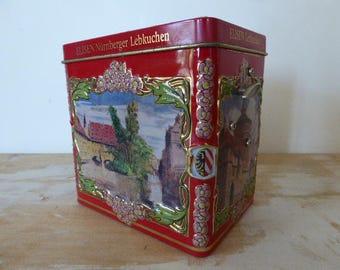 Biscuit Tin Music Box, Novelty Music Box,Storage Tin 0417021-124