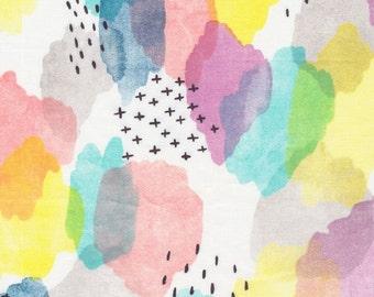 Canvas - Brush Strokes - Cloud9 Fabrics - Organic Cotton - Poplin by the Yard