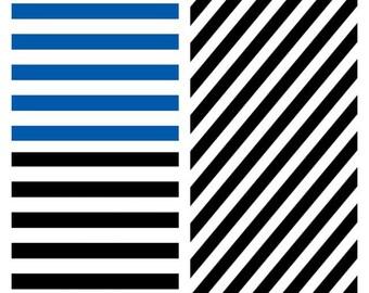 black striped vinyl, black striped htv, blue striped vinyl, blue striped htv, black diagonal htv, black diagonal vinyl