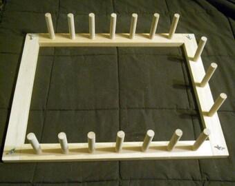 6.5 yd Warping Board for Weaving on a Loom