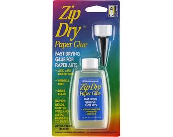 Zip Dry Paper Glue - 2 oz