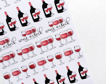 Wine O'clock Kit | Decor| Stickers