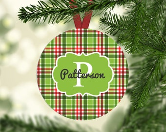 Custom Ornament | Christmas Ornament | Personalize Ornament | Christmas Decor | Monogram Ornament