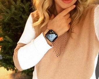 Fitbit Blaze Band  - tech wearables. Amazing Fitbit Blaze genuine leather strap gifts! Tech wearable jewelry