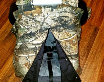 Camouflage Car Seat Canopy