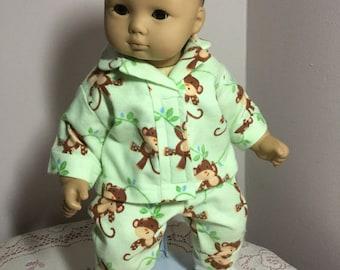 15 inch baby doll pajamas
