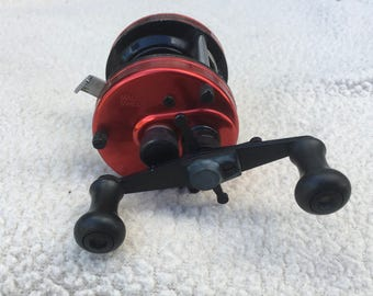 Abu Garcia Ambassadeur 5000 Red Made in Sweden
